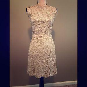 Gracia sz L lace dress with matching slips